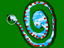 7. Snake's curl in T-man's levels